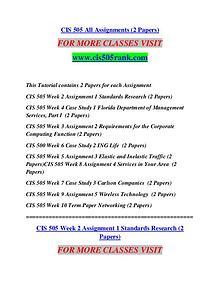 CIS 505 RANK Learn Do Live /cis505rank.com