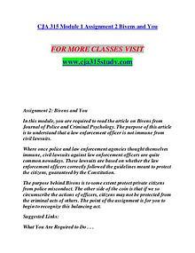 CJA 315 STUDY Let's Do This/cja315study.com
