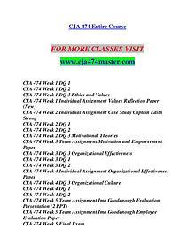 CJA 474 MASTER Let's Do This/cja474master.com