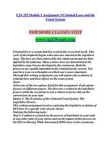 CJA 225 STUDY Let's Do This/cja225study.com