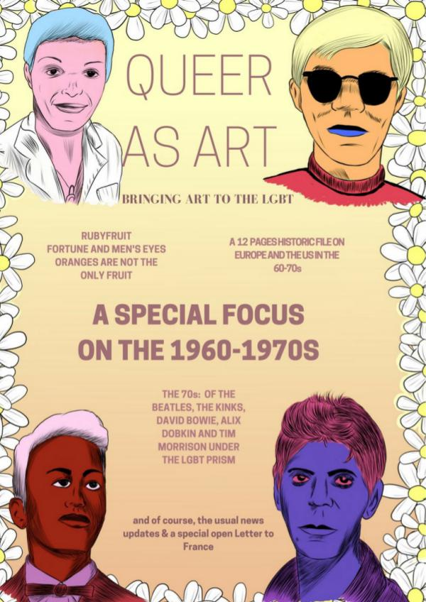 Queer As Art issue 2 April-May-June 2017