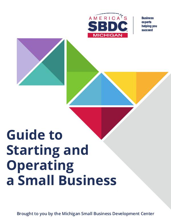 Guide to Starting and Operating a Small Business | 2018 Guide to Starting and Operating a Small Business