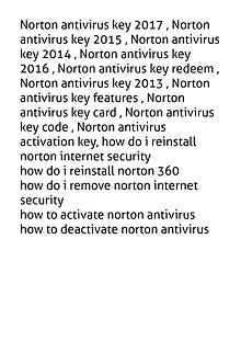 18559796695 Install/Reinstall/Activation Norton Antivirus 360 2017