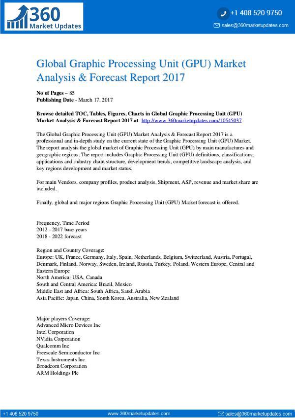 Report- Graphic-Processing-Unit-GPU-Market-Analysis-Foreca
