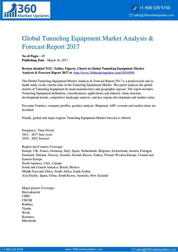 Report- Tunneling-Equipment-Market-Analysis-Forecast-Repor