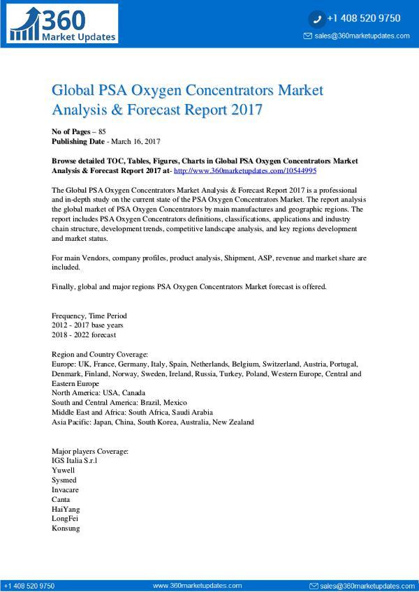 Report- PSA-Oxygen-Concentrators-Market-Analysis-Forecast-