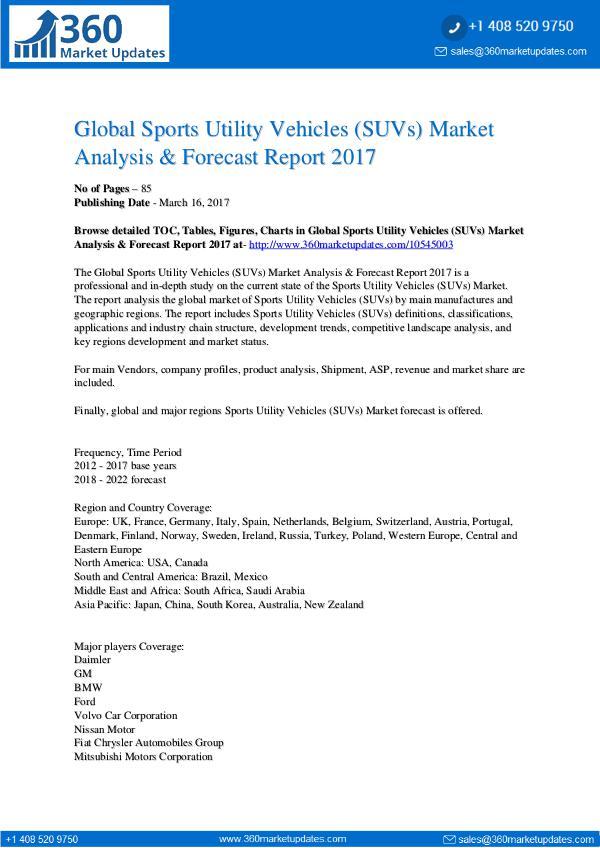 Report- Sports-Utility-Vehicles-SUVs-Market-Analysis-Forec