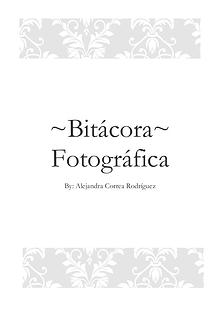 Bitácora fotográfia