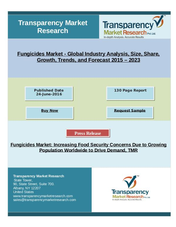 TMR_Research_Reports_2017 Fungicides Market To Reach US$16.30 bn in 2023