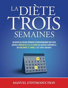 La Diete 3 Semaines PDF Gratuit Telecharger