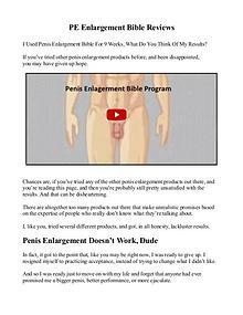 PE Bible PDF / eBook