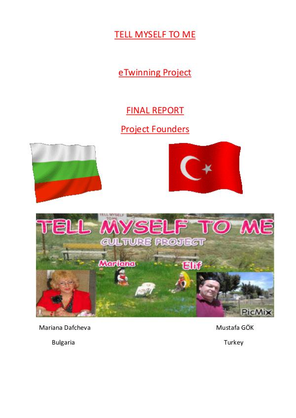 Tell Myself To Me Project report (2)