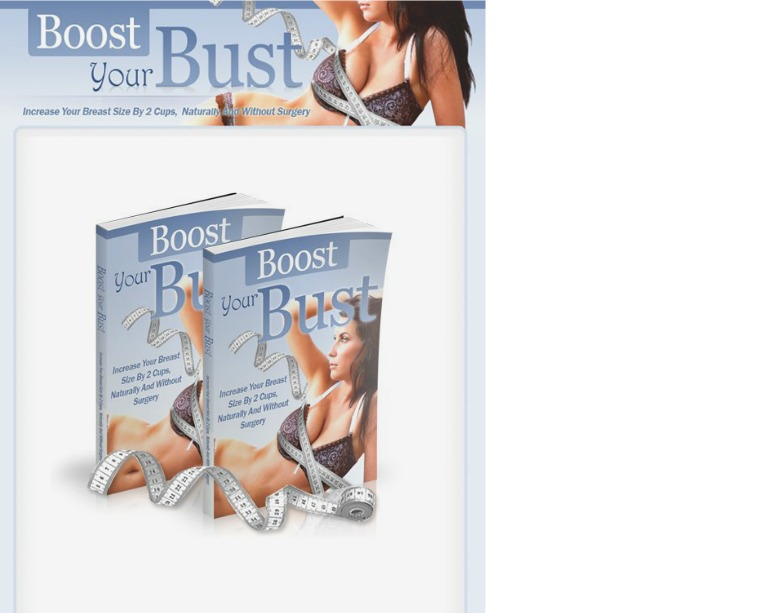 Boost Your Bust Jenny Bolton PDF / eBook Free Download (Book)