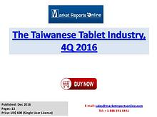 Tablet Market: 2017 Taiwanese Industry Trends, Growth, Share, Size an