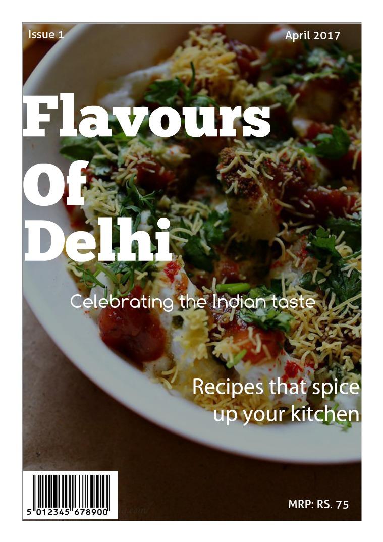 Flavours Of Delhi April 2017