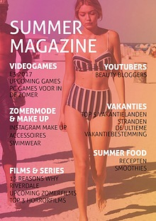 Summer Magazine 2017 door Klas 2 van het St Michael College