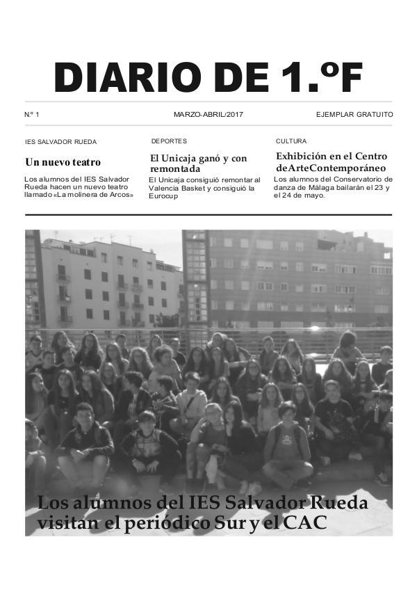 Diario de 1.º-F Diario de 1.º-F