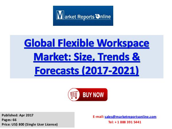 Flexible Workspace Market Research Report and Trends Forecasts 2021 Global Flexible Workspace Industry Growth Analysis