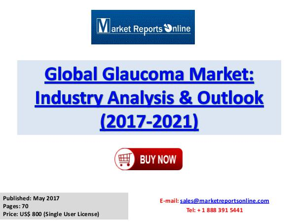 Glaucoma Market Research Report and Trends Forecasts 2017 to 2021 Glaucoma Market Global Analysis 2017