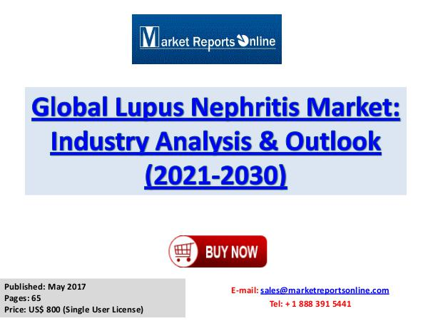 Global Lupus Nephritis Industry Growth Analysis and Forecasts to 2030 Lupus Nephritis Market Global Analysis 2017