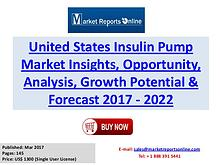 Insulin Pump Market Research Report and Trends Forecasts 2017 to 2022