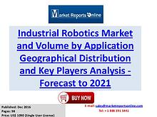 Industrial Robotics Industry Growth Analysis and Forecasts To 2021