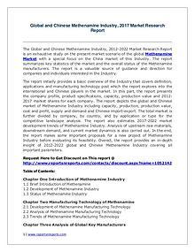 Methenamine Market Growth Analysis and Forecasts To 2022