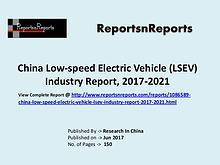Low Speed Electric Vehicle Market Research Report and Trends Forecast