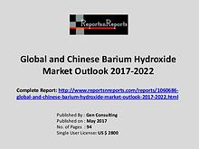 Barium Hydroxide Market Growth Analysis and Forecasts To 2022