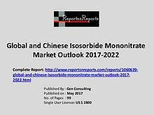Isosorbide Mononitrate Market Growth Analysis and Forecasts To 2022