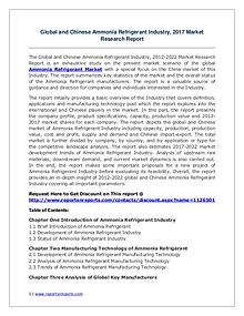 Ammonia Refrigerant Market Growth Analysis and Forecasts To 2022