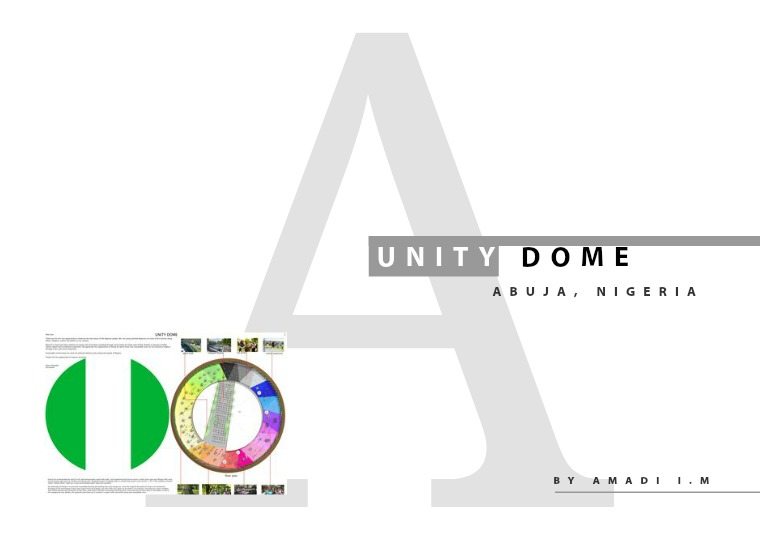 UNITY FOUNTAIN DOME, ABUJA NIGERIA UNITY DOME
