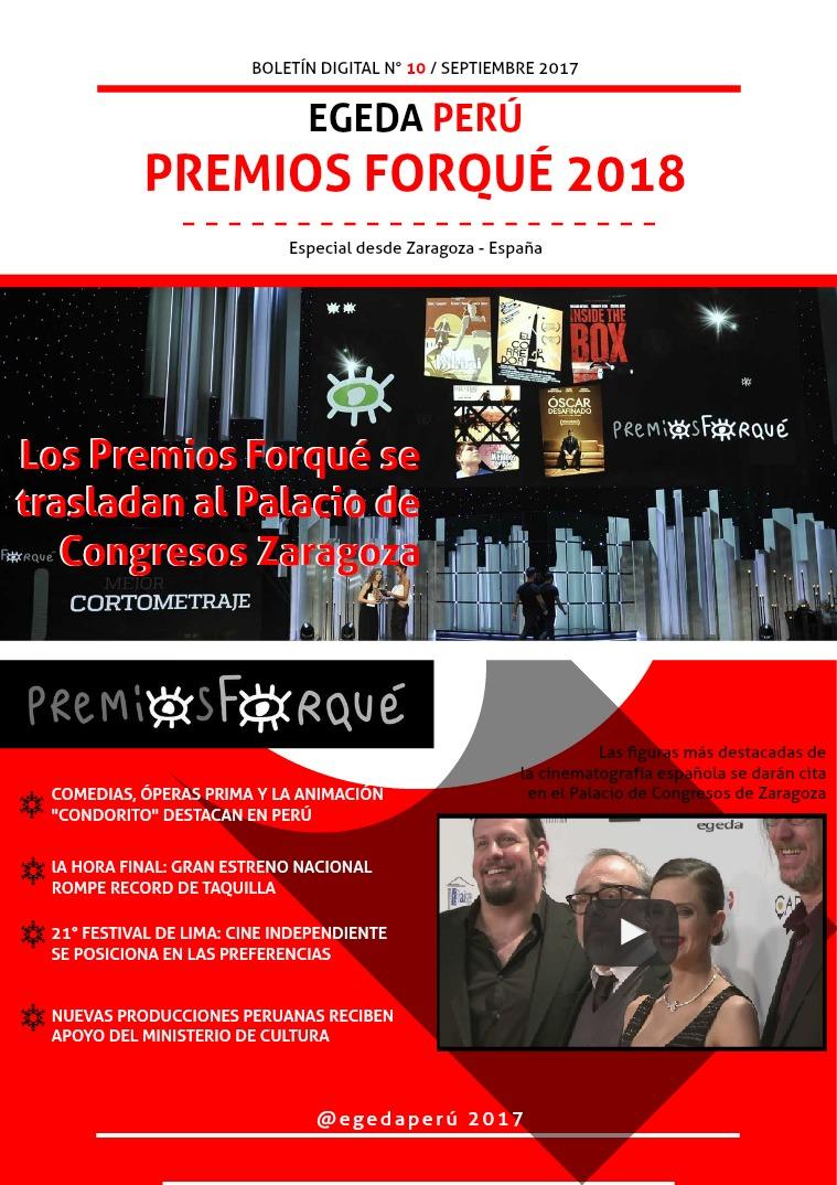 BOLETÍN DIGITAL EGEDA PERÚ N° 10