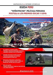 BOLETÍN DIGITAL EGEDA PERÚ