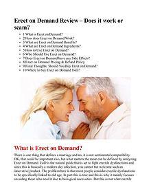 Erect On Demand Formula / PDF eBook Free Download