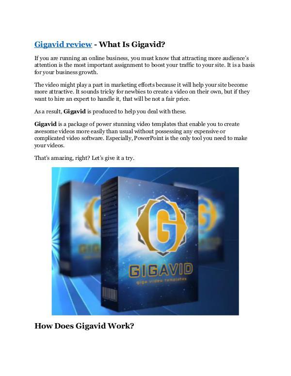 Gigavid Review & (Secret) $22,300 bonus