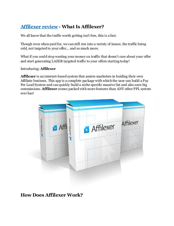 Marketing Affilexer review-(MEGA) $23,500 bonus of Affilexer