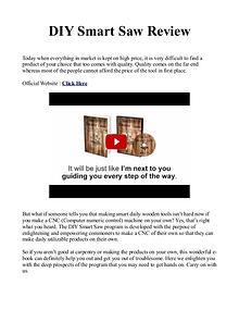 DIY Smart Saw PDF / Plans