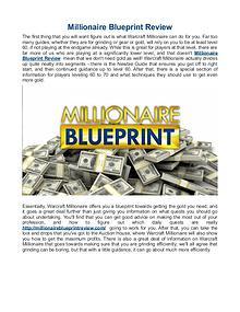 Millionaire Blueprint Review