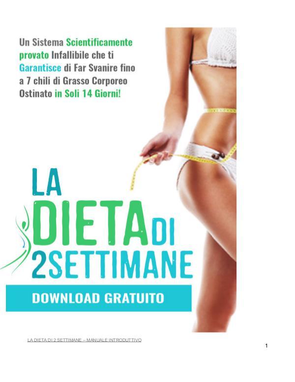 La Dieta Di 2 Settimane PDF / Sistema Brian Flatt's Libro Gratuito Scaricare