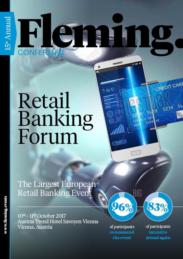 Retail Banking Forum 2017 15th Annual Retail Banking Forum