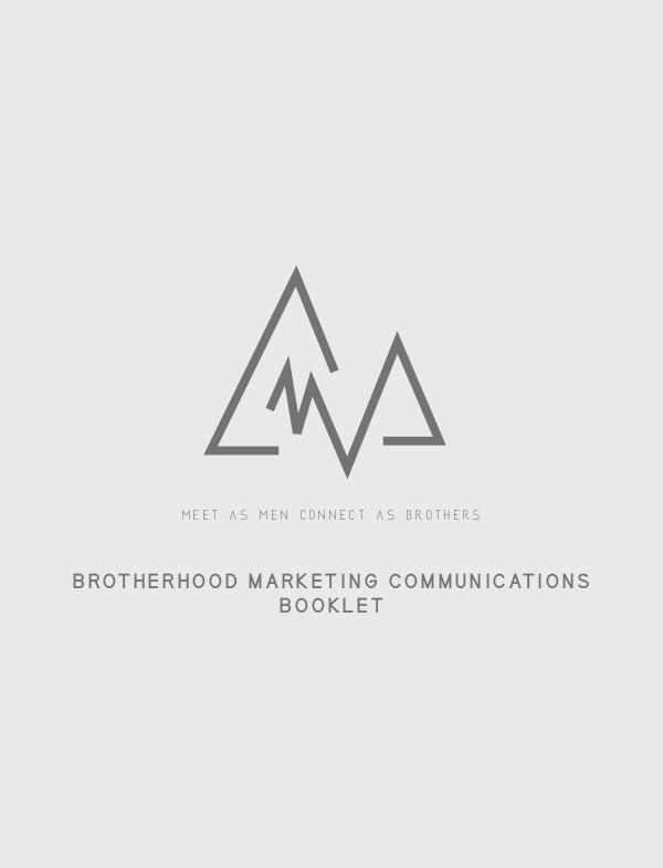 Brotherhood - Marketing Communications Booklet MCB - WELLS