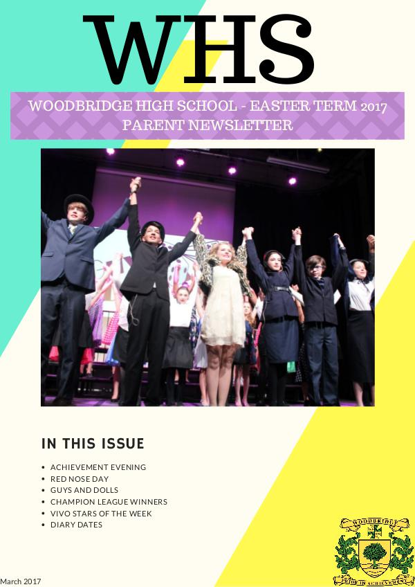 What's on at Woodbridge/Spring Edition What's on at Woodbridge/Spring Edition