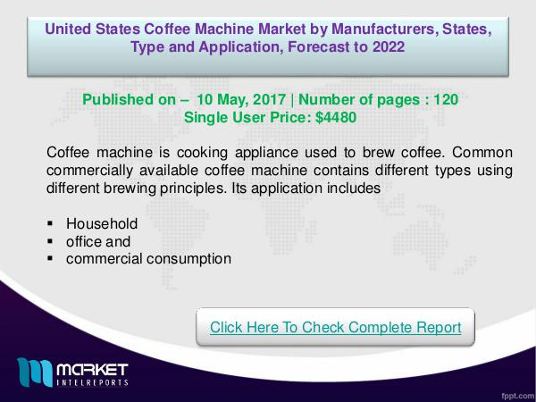 United States Coffee machine Market Overview | For