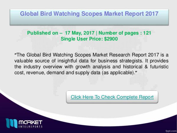 Global Bird Watching Scopes Market Research Report