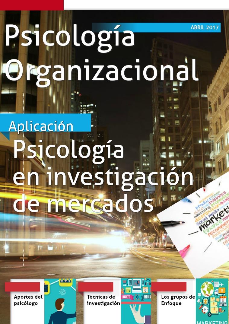 Psicología Organizacional aplicada a la mercadotecnia Primera edición