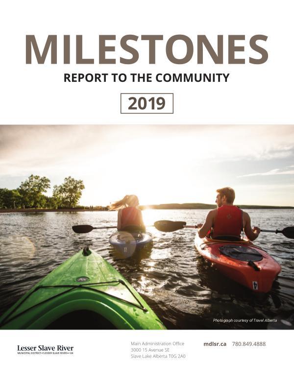 Milestones 2019 2019