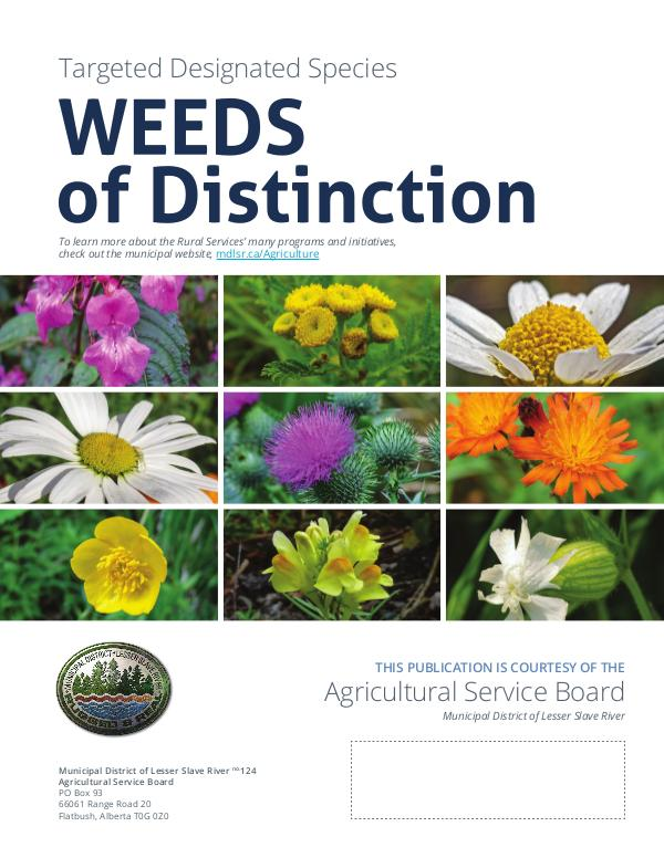 Rural Roots Special Edition - Weeds of Distinction