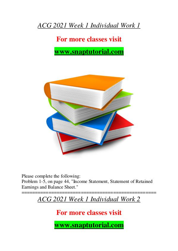 ACG 2021 help A Guide to career/Snaptutorial ACG 2021 help A Guide to career/Snaptutorial