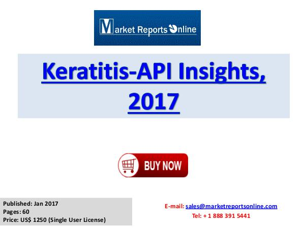 Keratitis Industry Growing In the Area of Healthcare Industry Keratitis Market